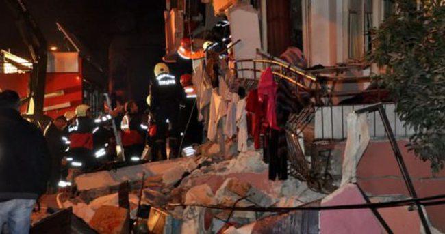 Mersin'de bina çöktü! Çok sayıda yaralı var