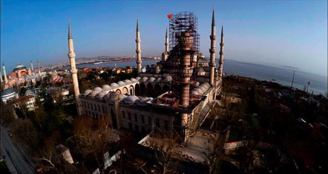 Sultanahmet'e 'check-up' yapıldı