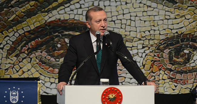 Erdoğan Büyük Roman ödül töreninde konuştu