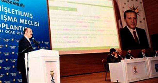 Akgül, Meclis'te yatırımları anlattı