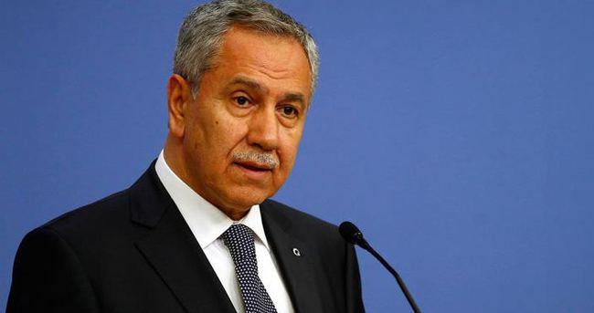 Arınç'tan Hakan Fidan'ın istifasına ilişkin açıklamalar