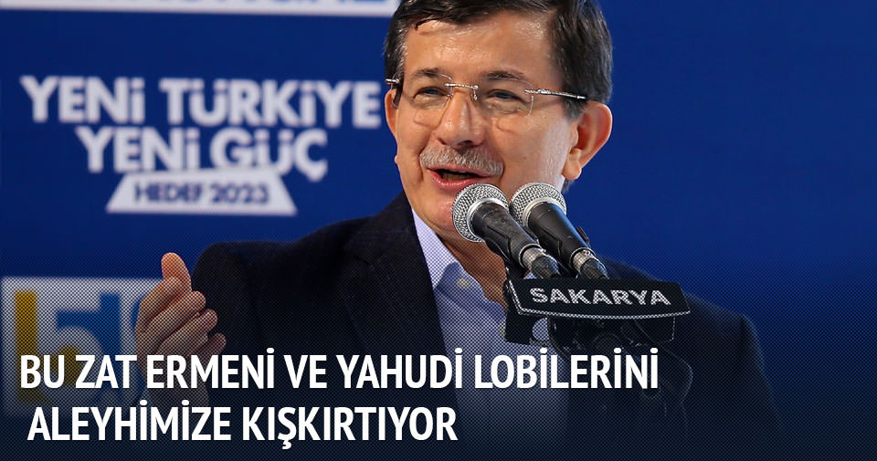 Başbakan Davutoğlu Sakarya'da konuştu