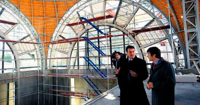 Demirtaş'a modern cami