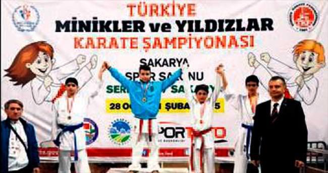 Karatecilerimiz gururlandırdı