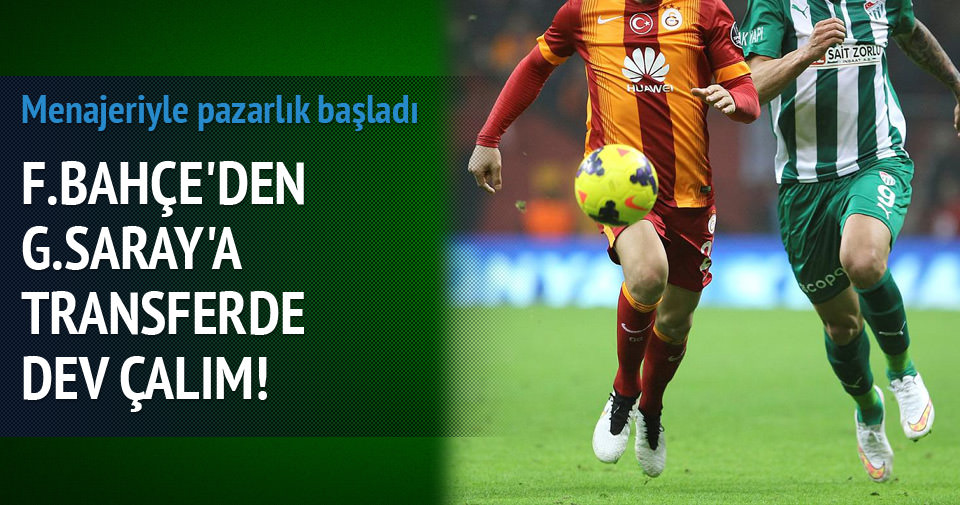 Fenerbahçe'den, Galatasaray'a Fernandao çalımı