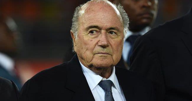 Blatter'dan taziye mesajı