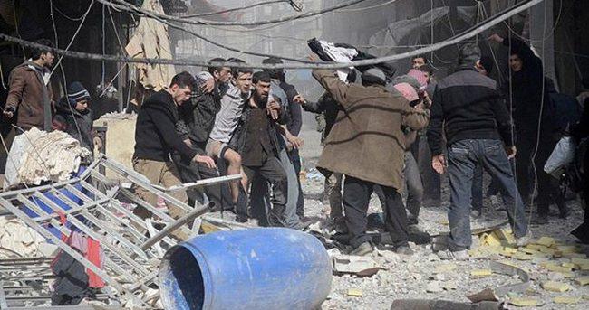 Suriye ordusundan hava saldırısı: 23 ölü