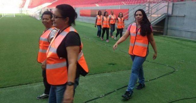 Brezilya'da 'Güvenlik anneleri' devrede!