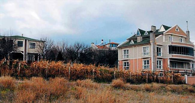 Villa var altyapı yok