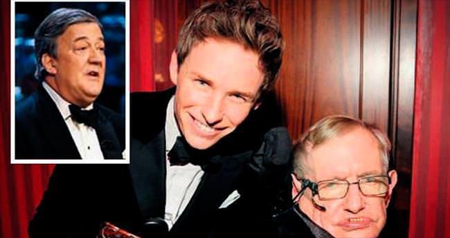ALS'li fizikçiyi taklit BAFTA'yı gölgeledi
