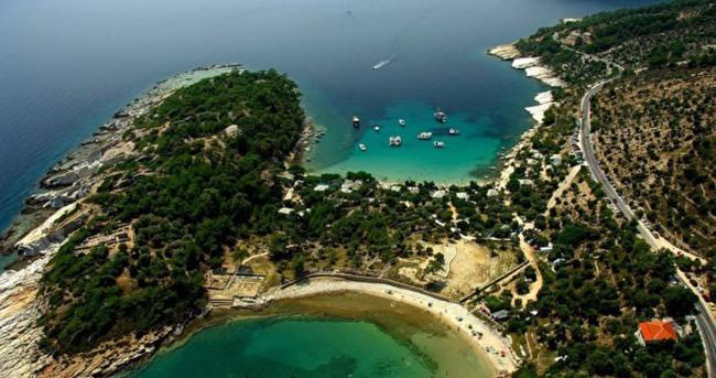 Yemyeşil bir saklı cennet: Thassos (Taşöz) Adası