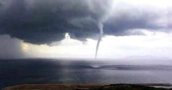 Antalya'da hortum paniği