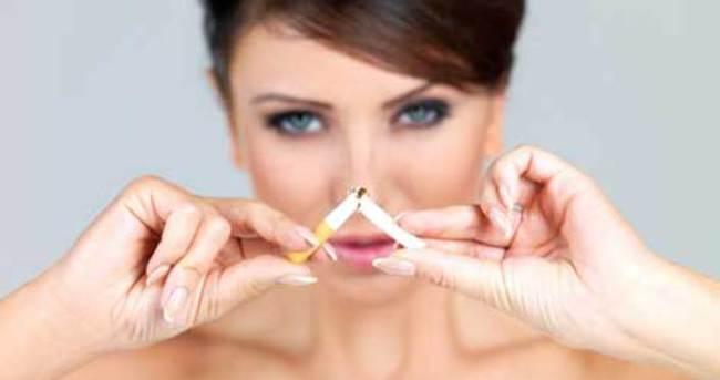 Sigara güzelliğinizi elinizden almasın