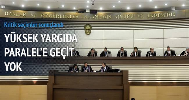 Yüksek yargı başkanlarını seçti