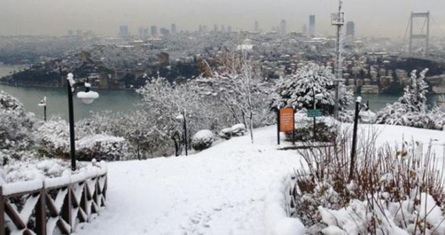 İstanbul'da kar kalınlığı 40 cm'ye ulaştı