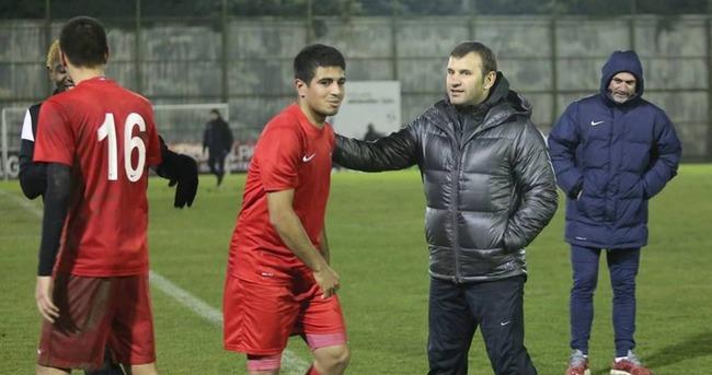 Gaziantepspor'da Fenerbahçe hazırlıkları sürüyor