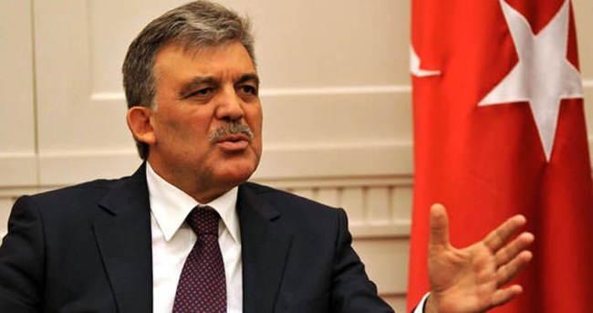 Abdullah Gül'den Köşk açıklaması