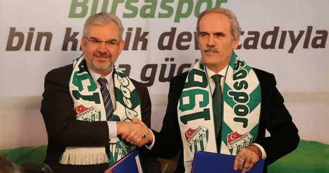 Timsah Arena resmen Bursaspor'un