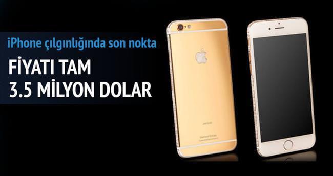 3.5 milyon dolarlık iPhone