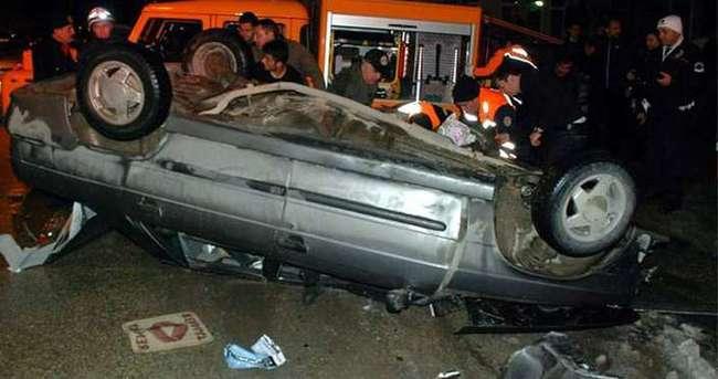 Kastamonu'da feci kaza: 2 ölü
