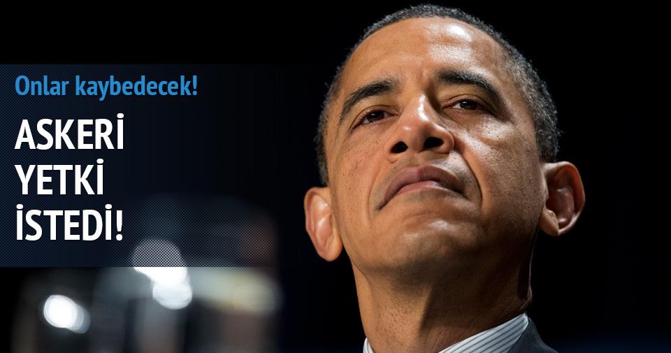 Obama IŞİD için yetki istedi