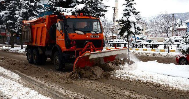 Ulaşıma kar ve sis engeli