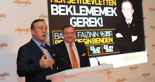 Ağaoğlu'ndan konut kredisi faizine yüzde 35 destek