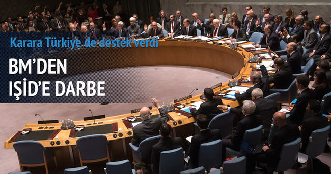 BM'den IŞİD'e darbe