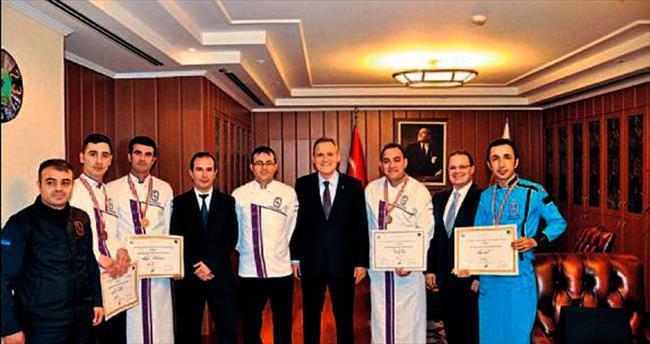 Hacettepeli aşçılar festivalde beş ayrı ödüle değer görüldü