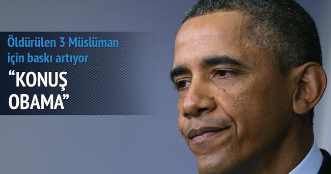 Obama'ya 'konuş' çağrısı