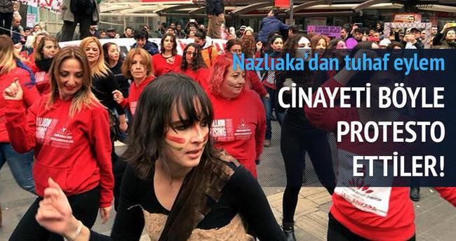 CHP'li Aylin Nazlıaka Özgecan için dans etti
