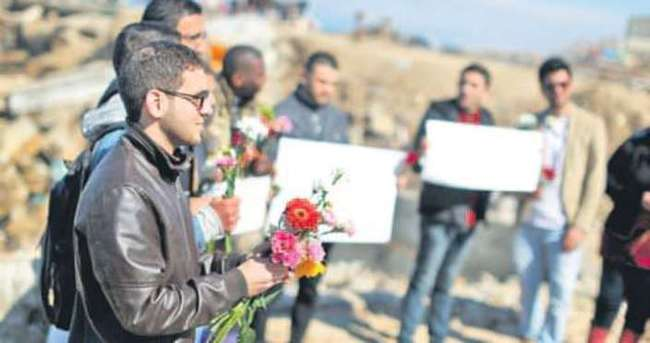 Müslüman gençler Gazze'de anıldı