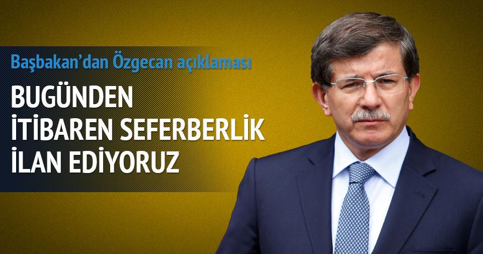 Başbakan Davutoğlu Antalya'da konuştu