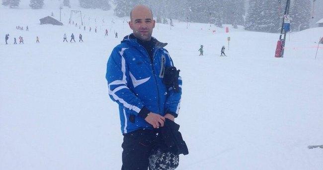 Murat Evgin Avusturya'da kar tatilinde