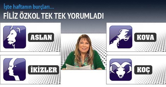 Filiz Özkol haftanın burçlarını yorumladı (16.02.2015 – 22.02.2015)