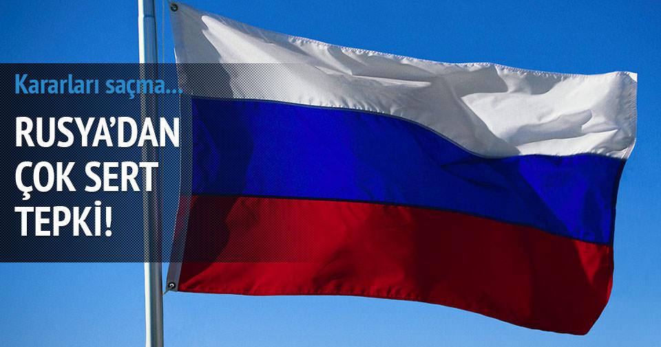 Rusya: AB mantıksız ve saçma!