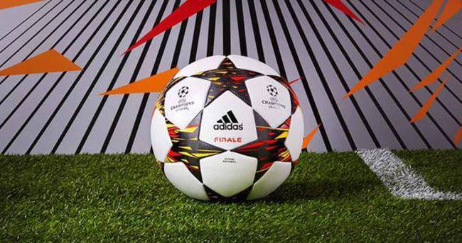 Devler Ligi topu tanıtıldı