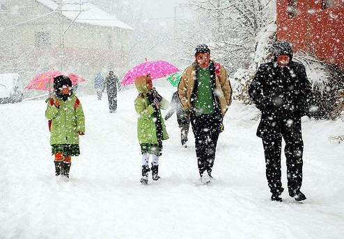 Eğitime 2 gün kar tatili!