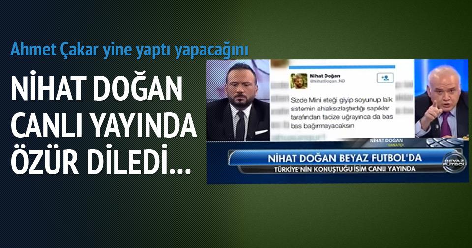 Nihat Doğan Türkiye'den özür diledi