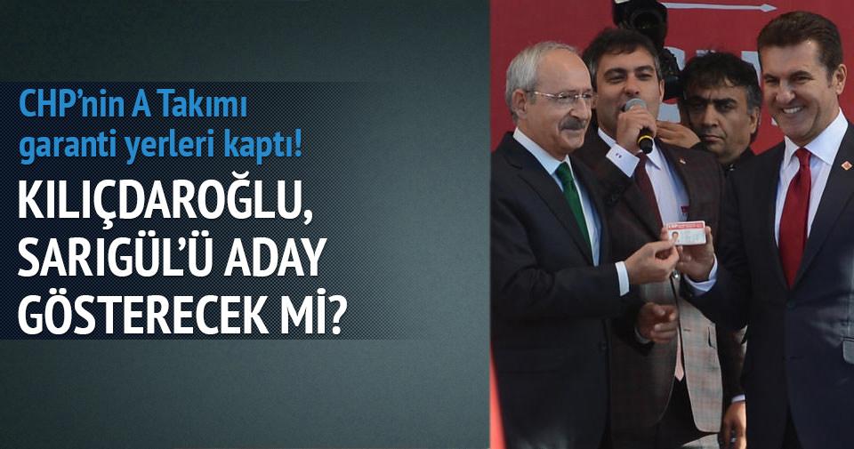 CHP'de yeri garanti 39 isim belli oldu