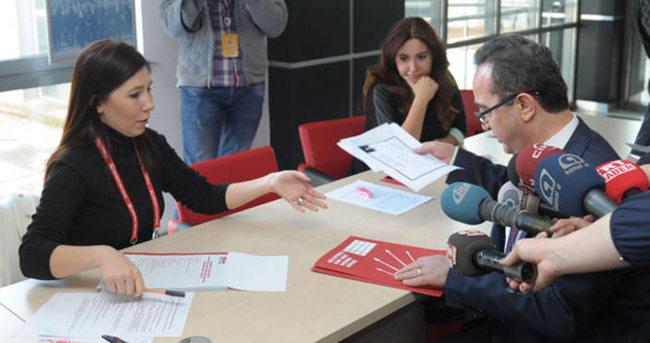 CHP'de aday adaylık başvurları başladı