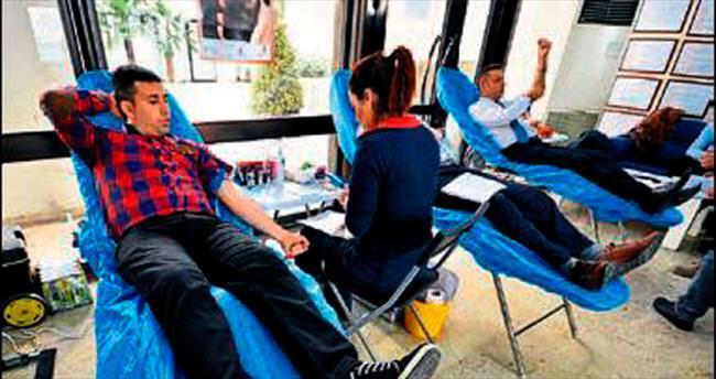 Bağış kampanyasına Büyükşehir desteği
