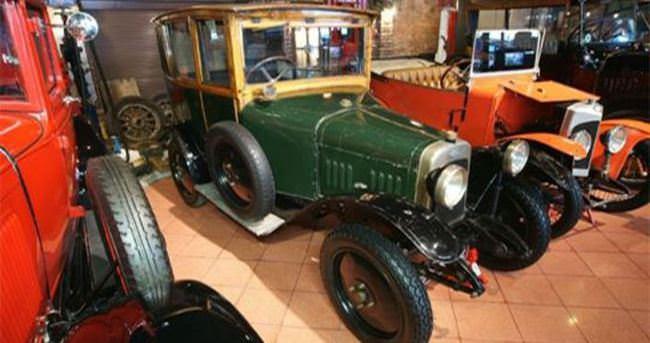 1922 model Charron artık Koç'un