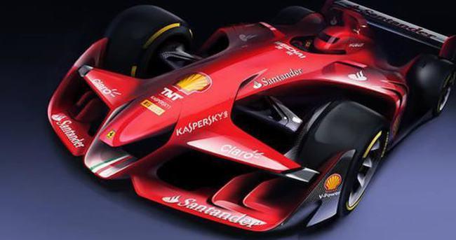 Ferrari'den radikal tasarım