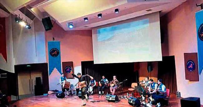 Uzak yaylalardan kültür ve sanat sesi