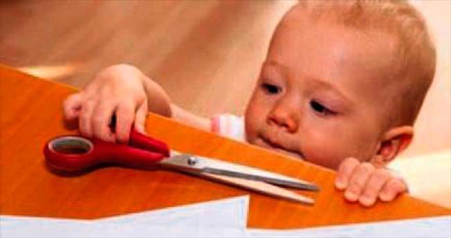 Ev kazalarından çocukları koruyun