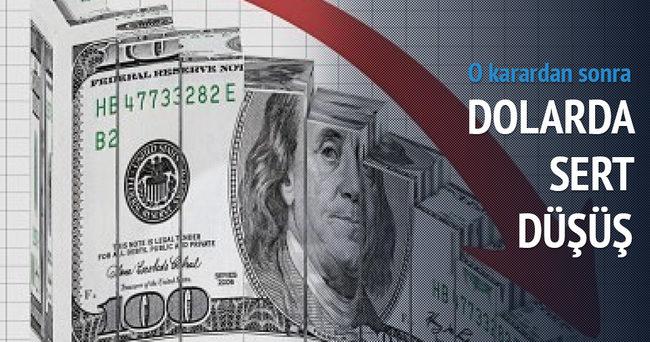 Dolar düştükçe düşüyor