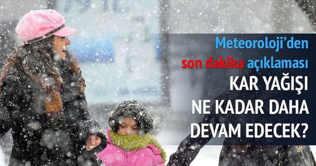 İstanbul'da soğuk hava ne kadar devam edecek?