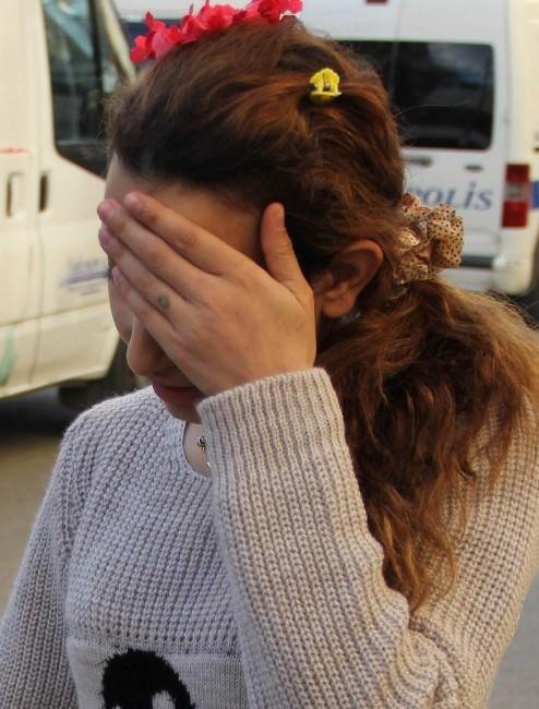 Evden Hırsızlık Yapan Genç Kadın Yakalandı