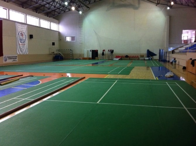 Karaman'da 19 Yaş Balkan Badminton Şampiyonası Hazırlıkları